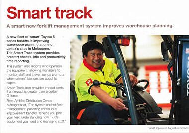Linfox – Solutions Magazine Asia Pacific
