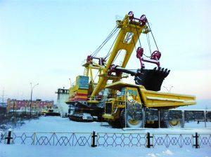 Truck_Excavator_Russia_Snow_Alrosa