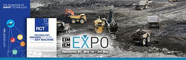 RCT at CIM Expo 2016, Vancouver, British Columbia