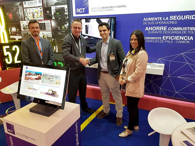 Expomin a huge success for the team