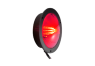SHALLOW NYLON VL LAMP MULTI-FUNCTION RED (FLANGE MOUNT)