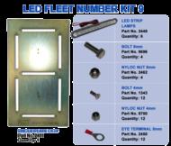 LED FLEET NUMBER KIT 9