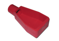 BATTERY TERMINAL COVER RED STRAIGHT ENTRY