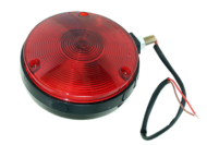STUD MOUNT SINGLE SIDED LAMP STOP / TAIL RED, CABLE ENTRY: BOTTOM