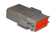 DT SERIES CONNECTOR KIT 12 TERMINAL
