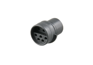 PLUG RUBBER 10 CONTACT MALE