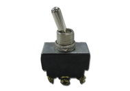 TOGGLE SWITCH 3 POSITION SPRING RETURN 10 AMP 6 TERMINAL - SCREW TERMINALS