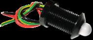 LED PILOT LIGHT 24V TRI COLOUR