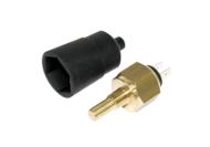 TEMPERATURE SWITCH 125°C NORMALLY CLOSED 1/8 NPT 15MM SHAFT LENGTH
