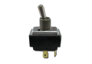 TOGGLE SWITCH ENVIRONMENTALLY SEALED ON - MOMENTARY OFF - SPADE TERMINALS