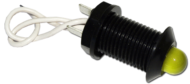 LED PILOT LIGHT 24V NEGATIVE SWITCHING YELLOW