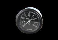 TACHOMETER GAUGE 0 - 4000RPM MAGNETIC PICKUP 12 / 24V - DATCON # 103665