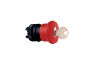 MUSHROOM HEAD RED 40MM KEYED TELEMECANIQUE # ZA2-BS14