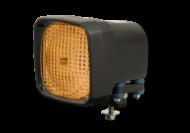 HID FLOOD LAMP AMBER N400 SERIES 24V 35 WATT
