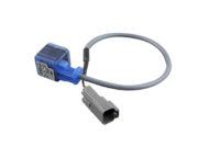 DIN PLUG WITH LED AND FLYING LEAD