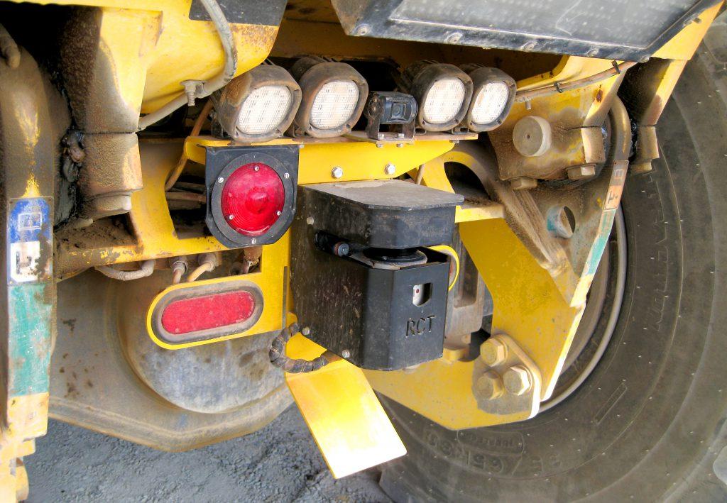 Truck_Underground_guidance_laser
