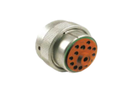 PLUG FEMALE HD36 - 14 SOCKET - 1 x #4, 1 x #12, 12 x #16 CONTACT DEUTSCH # HD36-24-14SN