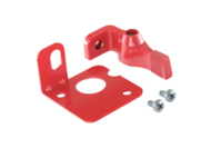 LOCKOUT BRACKET RED TO SUIT 1700 - COLE HERSEE # 24505-R