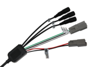 3 CAMERA INPUT LOOM TO SUIT 11939 / 9299 MONITOR