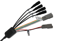 4 CAMERA INPUT LOOM TO SUIT 11939 / 9299 MONITOR