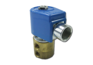 AIR SOLENOID VALVE 24V 3 PORT NORMALLY OPEN