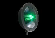 SHALLOW NYLON VL LAMP MULTI-FUNCTION GREEN (FLANGE MOUNT)