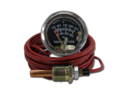 TEMPERATURE GAUGE ENVIROMENTALLY SEALED 120°C 16 FOOT CAPILLARY MURPHY #0910A20S1216