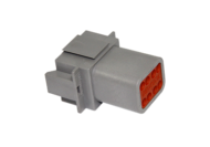 CONNECTOR RECEPTACLE 8 PIN DEUTSCH # DT04-8P