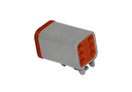 CONNECTOR PLUG 6 SOCKET DEUTSCH DT06-6S