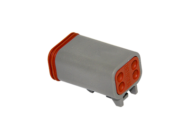 CONNECTOR PLUG 4 SOCKET DEUTSCH # DT06-4S