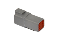 CONNECTOR RECEPTACLE 6 PIN DEUTSCH # DT04-6P