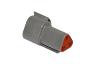 CONNECTOR RECEPTACLE 3 PIN DEUTSCH # DT04-3P