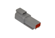 CONNECTOR RECEPTACLE 2 PIN DEUTSCH # DT04-2P