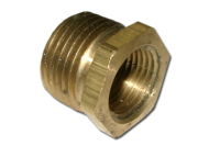 ADAPTOR BUSH 3/8 NPT FEMALE TO 1/2 NPT MALE TO SUIT 3/8 NPT TEMPERATURE SWITCHES