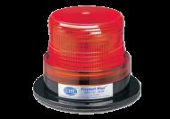 STROBE LIGHT 130MM RED 12 - 72V 3 BOLT MOUNT HELLA # 1656