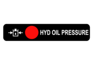 HYDRAULIC OIL PRESSURE