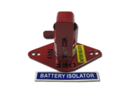 LOCKOUT BRACKET RED TO SUIT 9922 BOSCH ISOLATOR