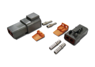 DTP SERIES CONNECTOR KIT 2 TERMINAL