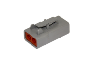 PLUG DTP SERIES 2 SOCKET # 12 CONTACT DEUTSCH # DTP06-2S