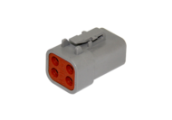 PLUG DTP SERIES 4 SOCKET # 12 CONTACT DEUTSCH # DTP06-4S