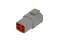RECEPTACLE DTP SERIES 4 PIN # 12 CONTACT DEUTSCH # DTP04-4P