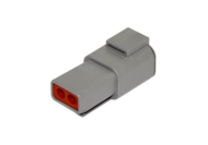 RECEPTACLE DTP SERIES 2 PIN # 12 CONTACT DEUTSCH # DTP04-2P