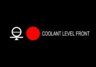 COOLANT LEVEL FRONT