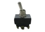 TOGGLE SWITCH 3 POSITION SPRING RETURN 10 AMP 3 TERMINAL - SCREW TERMINALS