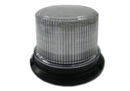 LED ROTATING BEACON AMBER MULTI VOLTAGE