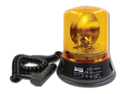 ROTATING BEACON 155MM AMBER MULTI VOLTAGE (NO GLOBE SUPPLIED) MAGNETIC BASE