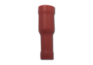 TERMINAL INSULATED BULLET RED FEMALE