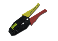 CRIMP TOOL TO SUIT INSULATED TERMINALS RATCHET