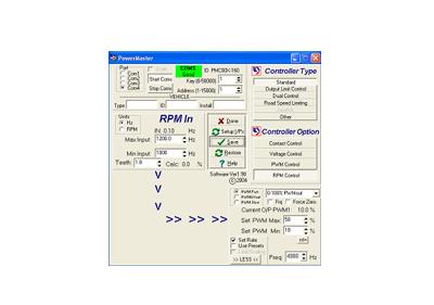 POWERMASTER SOFTWARE - RCT