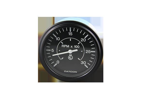 Tachometer Gauge 0 3000rpm Alternator Pickup 12 24v